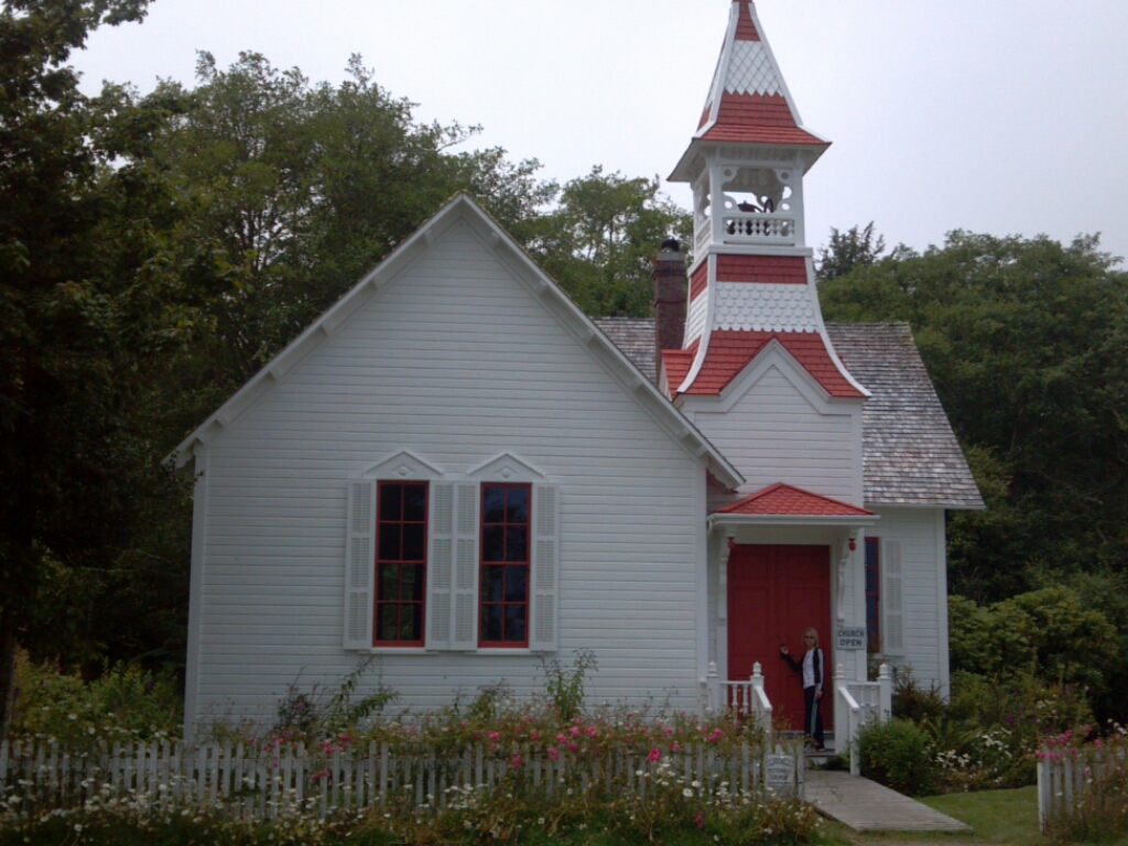 Old Church on the Oysterville Walking Tour