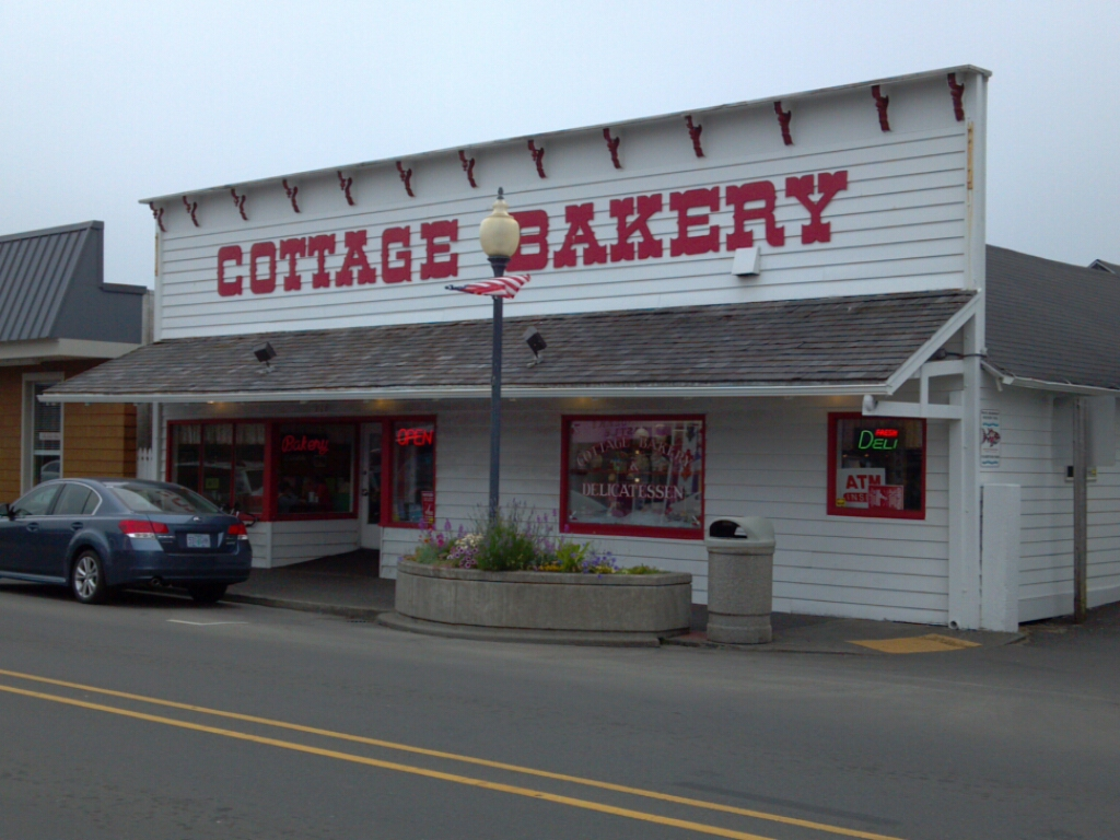 Cottage Bakery - Long Beach, WA