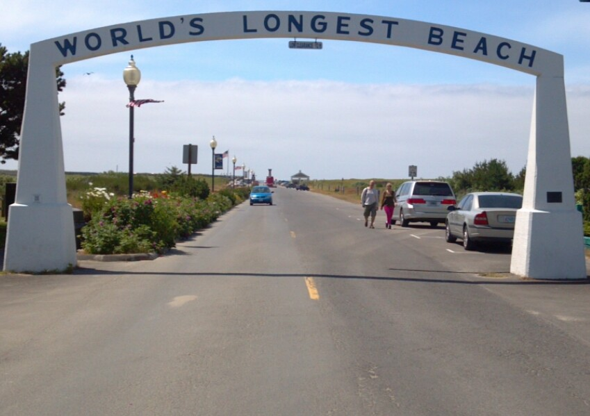 Welcome to Long Beach - the Worlds Longest Beach